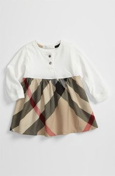 $145.00 Burberry Check Print Dress (Toddler) available at #Nordstrom