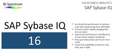 SAP Sybase IQ 16 – New Analytics at the speed of Business