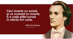 20 citate de Mihai Eminescu. Se aplică cu mare succes și la 165 de ani de la nașterea sa! Latin Quotes, Fun Facts, Awesome Facts, Food For Thought, Good To Know, Poetry, Thoughts, History, Words