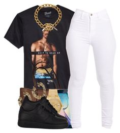 """""""Forgive But Don't Forget, Girl Keep Your Head up And when He tells You that you ain't Nothing Don't Believe Him And If He can't Learn To Love You, You Should Leave Him - Tupac Amaru Shakur"""" by polyvoreitems5 ❤ liked on Polyvore featuring Michael Kors, Samsung, Rolex, NIKE and Chanel"""