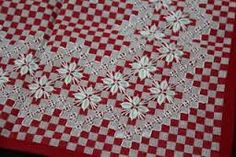 Resultado de imagem para graficos de bordados em tecido xadrez para imprimir