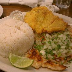 Cuban Bistec de Pollo (Chicken) a la Plancha @ Sergio's