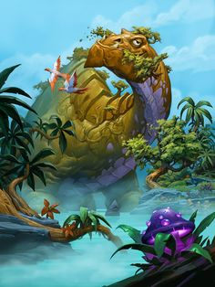 Journey to Un'Goro - Card Sets - Hearthstone