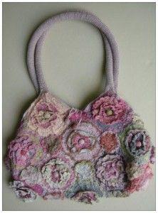 PR geranium linen bag by Sophie Digard