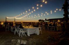 Aerial lights - Luces aéreas - #laiasegui #weddings #menorca