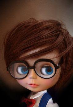 Conan GlassesFor Blythe por 24PM en Etsy, ฿415.34