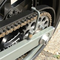 Chain guard #motorcycle #modification