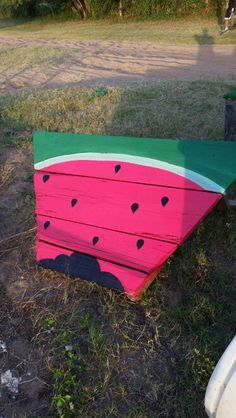 Watermelon Chevron