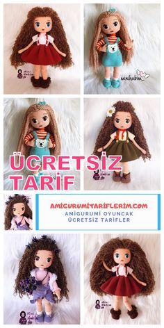 Crochet Birds, Cute Crochet, Crochet Baby, Beginner Knitting Patterns, Crochet Dolls Free Patterns, Little Girl Gifts, Knitted Animals, Stuffed Toys Patterns, Amigurumi Doll