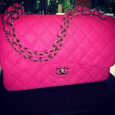 d8631727ddc Sensational Hot Pink Chanel Burberry Handbags