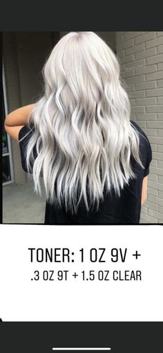 Hair Color For Women, Hair Color And Cut, White Hair Toner, Redken Hair Color, Hair Stations, Redken Hair Products, Hair Junkie, Hair Color Formulas, Colored Hair Tips