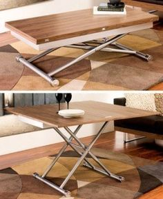 Compact living at its best, this coffee table can be