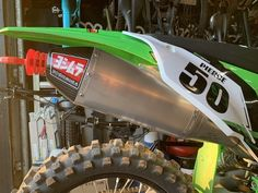 Yoshimura YRD RS4 Slip-On Works Edition Kawasaki KX450F 19-20 244722D320 Atv Winch, Radiator Hose, Motorcycle Parts And Accessories, Performance Parts, It Works, Monster Trucks, Slip On, Nailed It