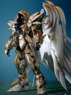 GUNDAM GUY: MG 1/100 Wing Gundam Zero Diablo Archangel - Custom Build