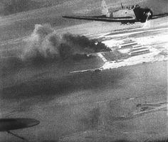 . Japanese planes over Hawaii during the attack on Pearl Harbor, Dec. 7, 1941…