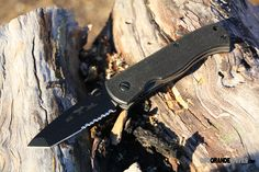 Emerson CQC7BW-BTS Tanto with Wave, Black Blade, G-10 Handle, ComboEdge. http://www.osograndeknives.com/store/catalog/tactical-folding-knives/emerson-cqc7bw-bts-tanto-with-wave-black-blade-g-10-handle-comboedge-1861.html