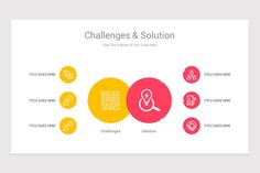 Challenges and Solutions Keynote Template is a professional Collection shapes design and pre-designed template that you can download and use in your Keynote. The template contains 11 slides you can easily change colors, themes, text, and shape sizes with formatting and design options available in Keynote. Shape Design, Keynote Template, Color Change, Challenges, Diagram, Shapes, Templates, Colors, Google