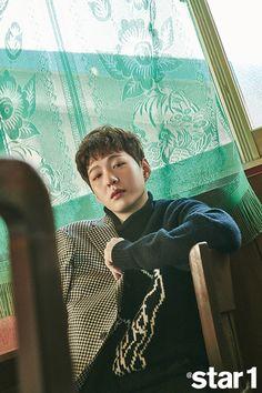 BTOB   @Star1 Btob Changsub, Yook Sungjae, Lee Minhyuk, Im Hyun Sik, Grazia Magazine, Demon Hunter, Boys Like, Cube Entertainment, Kpop