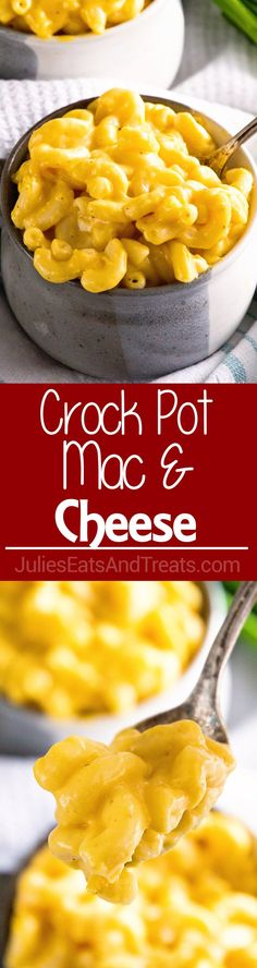 Crock Pot Mac and Cheese Your Favorite Macaroni And Cheese Made In Your Slow Cooker Easy, Creamy, Deliciousness Slow Cooker Pasta, Crock Pot Slow Cooker, Crock Pot Cooking, Slow Cooker Recipes, Crockpot Recipes, Cooking Recipes, Crockpot Veggies, Cooking Pasta, Crockpot Mac And Cheese