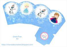 Mamá Decoradora: Kit imprimible Frozen Gratis Frozen Birthday Banner, Frozen Banner, Girl Birthday, Printable Banner, Party Printables, Frozen Dessert Table, Frozen Party, Frozen Frozen, Table Template