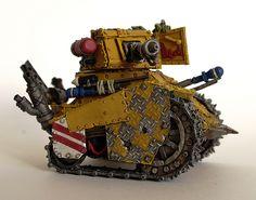 Grot Tank, Ork, conversion, Warhammer 40k.