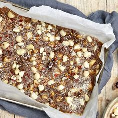 I Quit Sugar - Maca Macadamia Chocolate Bark