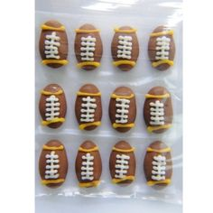 RUGBY BALLS 17MM BOX OF 12