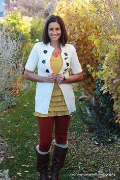 Bring On The Frill Layering Skirt-Mustard