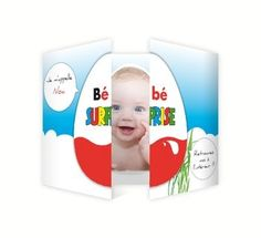 """Faire part naissance """"Bébé surprise"""""""
