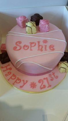 French Fancy themed birthday cake