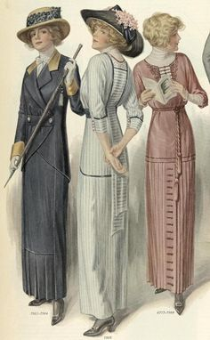 Source: Ladies Home Journal (March, - Edwardian Fashion Edwardian Clothing, Edwardian Dress, Edwardian Era, Retro Mode, Vintage Mode, Vintage Ladies, Vintage Hats, 1900s Fashion, Edwardian Fashion