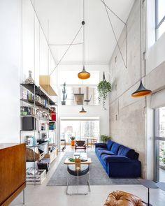 brazilian architecture - interior minimalistic design home