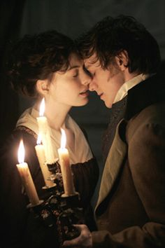 Becoming Jane. A fantastic movie, favorite scene and where I started a love affair with James McAvoy. Oh that accent.
