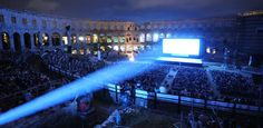 """ #Pula #Film #Festival""  London newspaper The Guardian in 2005 wrote that Pula is ""one of the three most spectacular open-air festivals in #Europe ""."