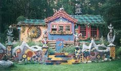 Luna Parc Whimsical artist house in the New Jersy woods