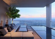Gallery of Penthouse Design: Architecture on Top of the World - 5 New York Penthouse, Luxury Penthouse, Penthouse Apartment, Luxury Apartments, Urban Apartment, Luz Natural, Suite Principal, Top Of The World, Interior Exterior