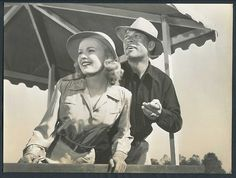 "Ward and June Haver in ""Home in Indiana"""