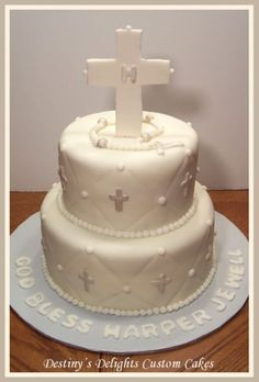 BABY SHOWER CAKES . BAPTISM & CHRISTENING
