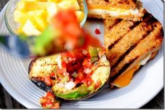 Grilled avocado?