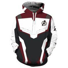 The Avengers 4 fin de partie Quantum Realm 3D Imprimé Hoodies Sweat-shirt Sweatpant Set