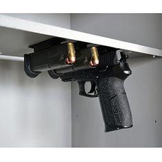 Multi-Mag: Magazine and Gun Mounting Magnet Gun Storage Solutions http://www.amazon.com/dp/B00KWD6DFQ/ref=cm_sw_r_pi_dp_exm1ub1NQQ01G
