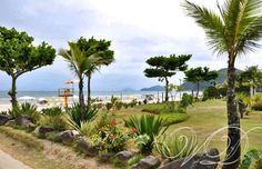 Frente da praia