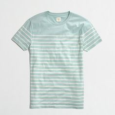 J.Crew Factory - Factory slim placed-stripe tee