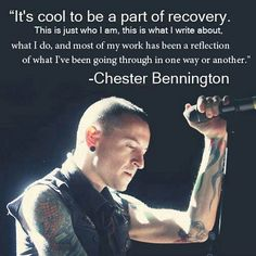 And it's why we'll miss you so much Chester... you were one of a kind