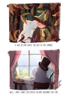 snufkin posts - Or just avril or gaël Moomin Wallpaper, Les Moomins, Moomin Valley, Aristocats, Fluffy Pillows, Cat Dad, Telling Stories, Gremlins, Cute Creatures