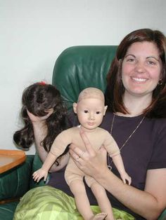 Just Magic: Rewigging ~ An Illustrated Guide .... for dolls with wigs glued on, or rooted hair