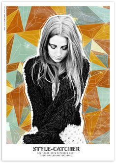 Style catcher Posters by Melissa Wade, via Behance // <3