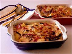 Gratin de blettes aux lardons et pommes de terre  excellent à refaire