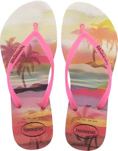 - Thong style - Cushioned footbed with textured rice pattern and rubber flip flop sole - Made in Brazil