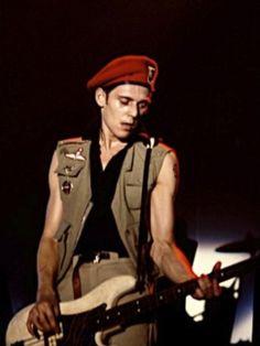 The Clash - Joe Strummer, Mick Jones and Paul Simonon
